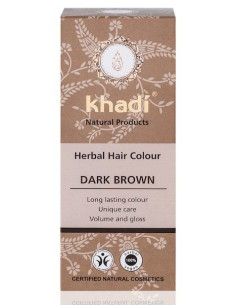 Tinta Vegetale - DARK BROWN (Castano Scuro) - Khadi