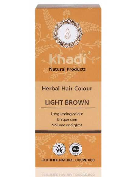 Tinta Vegetale - LIGHT BROWN (Castano Chiaro) - Khadi